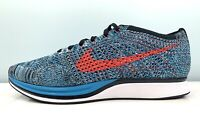 Nike Flyknit Racer Running Shoes Turquoise 526628-008 Men Size 8.5 = Women 10