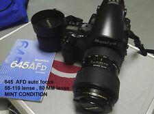 Mamiya 645 AFD camera KIT MINT