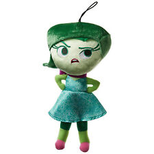 Disney Inside Out Disgust Zippered Hanger 12 Inch Plush Figure NEW Toys Movie