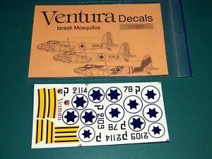 Ventura Decals 1/48 V4867 - Israeli Moquitos