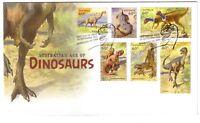 "2013 FDC Australia's Age of Dinosaurs. ""Dinosaur"" Pict.FDI  ""INVERLOCH"""