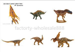 6Pcs PNSO Rare Kinder Dinosaurs Figures Kids Education Set C Model Einiosaurus #