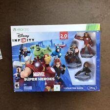 NEW Disney Infinity: Marvel Super Heroes 2.0 Xbox 360 Starter Pack