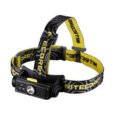 Nitecore HC90 Rechargeable XM-L2 Headlamp sliding switch & Red Green Blue LED's