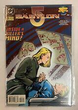 Babylon 5 Inside A Killers Mind Dc Comic Book March 1995 Issue#3 Moretti Garzon