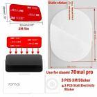 70 mai Pro Dash Cam Smart Car DVR 3M 3pcs holder Suitable Stickers, Static and
