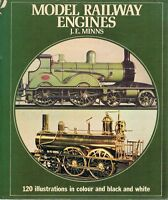 Model Railway Engines by Minns J. E - Book - Pictorial Hard Cover