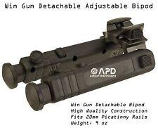 Win Gun Detachable Adjustable Bipod 20mm Picatinny Rail Airsoft Quick Release WG