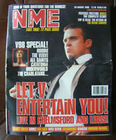NEW MUSICAL EXPRESS NME - 29 AUGUST 1998 - ROBBIE WILLIAMS COVER