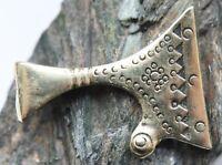 Ancient Solid Bronze AXE Ornament Pendant