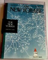The New Yorker Holiday Christmas 8 Greeting Cards Dec. 22 & 29, 2014 ❄️ & 🐶 New