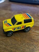 Vintage Majorette Sonic Flashers Yellow Truck #163 Rare