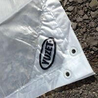 2.7m x 3.5m YUZET CLEAR TARPAULIN 120gsm heavy duty sheet cover