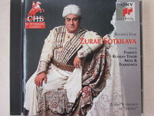 Zurab Sotkilava sings famous Russian tenor arias & folksongs - CD made in USA
