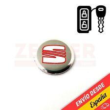SEAT - Emblema Logo Pegatina para llave mando de coche - 14 mm - 14mm