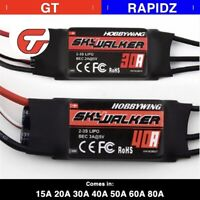 Hobbywing Skywalker 15A - 80A UBEC Brushless ESC With 5V/5A BEC For RC Airplane