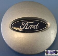 """'04-'08 FORD, USED CAP, BLUE FORD OVAL, PLASTIC CLIPS & WIRE RING,  2-1/2"""". 3545"""