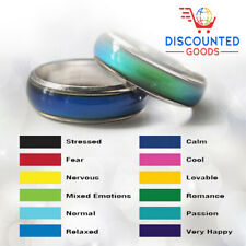 Mood Ring Gift For Mom Wife Girlfriend Valentines Mothers Day - Fast US Shipping