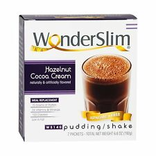 WonderSlim Aspartame Free Diet 15g Protein Shake & Pudding Mix ... Free Shipping