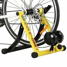 Bicycle Trainer Stand Portable Indoor Exercise Bike Training Wide Magnetic Pedal
