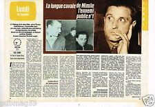 Coupure de presse Clipping 1985 (2 pages) Longue cavale d'Emile Buisson Mimile