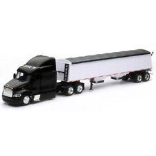 New Ray 1/43 Long Haul Trucker Peterbilt Model 387 Grain Hauler Black SS-15453
