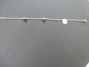 """Armband """" Glanz - Silber """" 925er Sterlingsilber mit 3 Plättchen gearbeitet"""