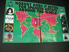 Ole Ole Tam Tam Paloma more Rare 1993 2-Piece Promo Ad