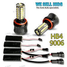 27 SMD HB4 9006 FOG LIGHT LED DRL XENON BULBS CANBUS ERROR BMW E90 E92 M SPORT