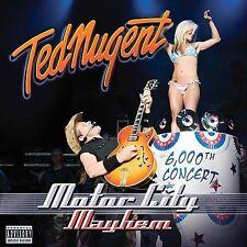 Motor City Mayhem PA by Ted Nugent CD Jun-2009 2 Discs Eagle Rock USA Brand New!