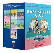The Baby-sitters Club Graphic Novels #1-7 a Graphix Collection by Martin Ann M
