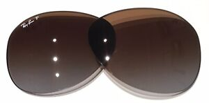 Ray Ban RB 3549 Polarized  Brown Gray Gradient  Replacement Lenses 61 mm