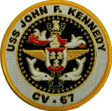 USS JFK Patch