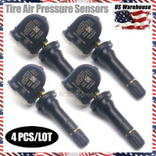 4PCS 13598771 TPMS Tire Pressure Sensors For GM Buick Chevrolet