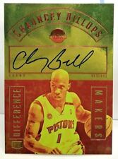 Chauncey Billups 2016-17 Grand Reserve Difference Makers Autograph Auto #'d/75