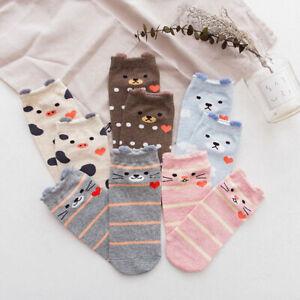 LBC 5 Pack Women Girls Cute Korean Socks Japanese Funny Kawaii Socks Pets
