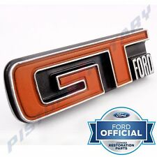 GT FORD Grille Badge ,Chrome BRAND NEW for XY Ford Falcon 351 GS Grill super roo