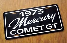 1973 Mercury Comet GT License plate car tag 73 Compact Performance car  302