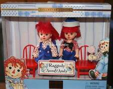 2000 Collector Ed Barbie Kelly Raggedy Ann and Andy NRFB (But Loose Chair)