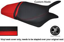 Se adapta a personalizado de vinilo negro y rojo Honda Hornet CB 600 F 07-12 Cubierta de asiento solamente