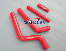 Silicone Radiator Hose RED For Yamaha YZ125 YZ 125 96-01 96 1997 1998 1999 00 01