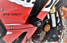 Honda CBR600RR 2013 R&G Racing Aero No-Cut Crash Protectors CP0339BL Black