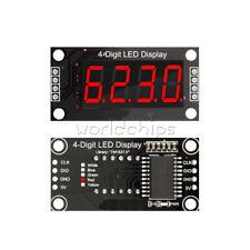 "0.36 "" TM1637 4-Bit 7-Segment Tube LED Digital Display Module Red For Arduino"