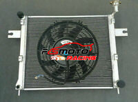 Radiator + FAN FOR Jeep Commander 06-10 Grand Cherokee 05-10 3 3.7 V6 4.7 6.1 V8