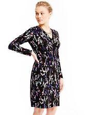 Marks and Spencer Women's V Neck Long Sleeve Casual Dresses