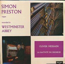 Messiaen La Nativité Du Seigneur Simon Preston ARGO ZRG 5447