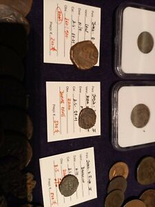 portuguese india lot of 75 coins - all excelent coins & some very rare coins !!!