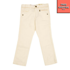 MAYORAL Jeans Size 6Y / 116CM Stretch Contrast Stitching Zip Fly