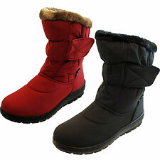Unbranded Snow, Winter Wedge Heel Pull On Boots for Women