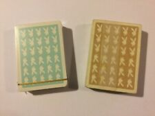 Playboy London casino playing cards.